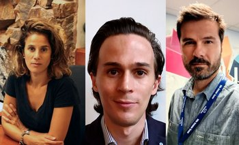 Paola Kogan, Agustín Bensusan, Rafael Valek