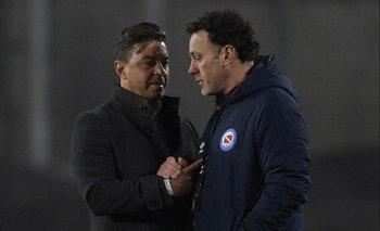 Marcelo Gallardo y Gabriel Milito
