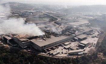 Vista aérea de la ciudad de Durban (Sudáfrica)