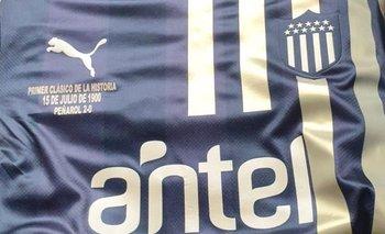 La camiseta que usará Peñarol en el clásico de este jueves