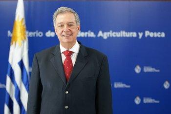 Fernando Mattos, ministro de Ganadería, Agricultura y Pesca.