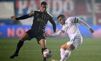 Gonzalo Bergessio, el mejor de Nacional