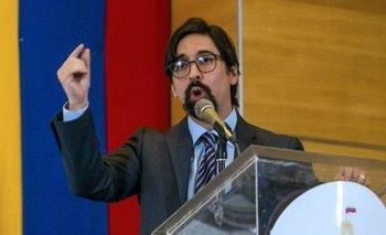 Freddy Guevara pertenece al partido opositor Voluntad Popular