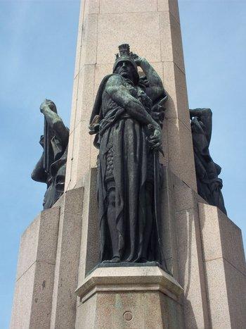 Obelisco a los Constituyentes en Montevideo