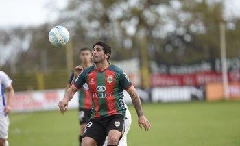 Williams Martínez en uno de sus pasajes por Rampla Juniors