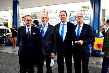 Gabriel Pretus, Aristides Bonilla, Bernabé Rodríguez-Pastrana y Angel Guarch