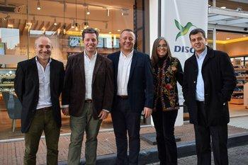 Osmar Muñoz, Adrian Szwarckopf, Valeria Romano y Marcelo Cabrera