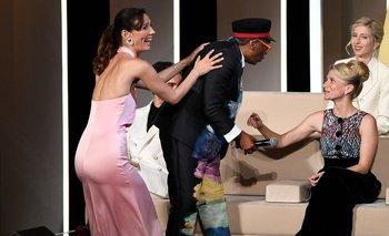 Spike Lee erró su anuncio y ocasionó un momento hilarante en Cannes