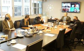 El secretario de Presidencia, Álvaro Delgado, participó de la reunión entre el MGAP y el INAC.