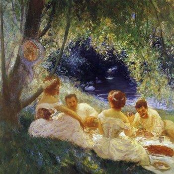 Comer al aire libre es algo que, por supuesto, venimos haciendo desde los albores de la humanidad, y eventos parecidos a nuestros pícnics aparecen en los escritos del filósofo griego Plutarco y el romano Séneca, así como del poeta romano Ovidio