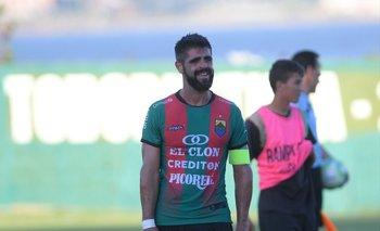 Edgar Martínez en su último club, Rampla Juniors