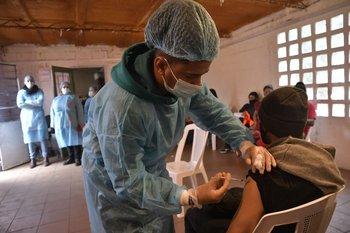 Vacunación barrio a barrio