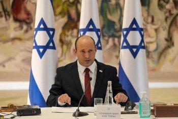 Primer ministro israelí, Naftali Bennett