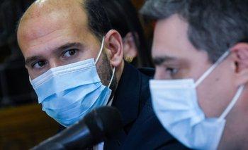 Ministro Martín Lema y director del Sistema de Cuidados, Nicolás Scarela
