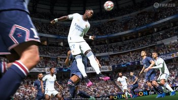 FIFA 22 tendrá nuevas animaciones en los saltos de los jugadores.