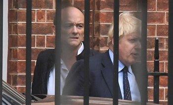 Dominic Cummings fue el principal asesor de Boris Johnson y cerebro detrás de la campaña del Brexit.