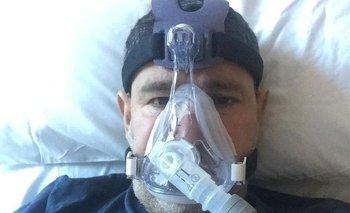 Abderrahmane Fadil se contagió de covid-19 y estuvo varios días en el hospital con oxígeno