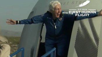 Wally Funk llevaba seis décadas intentando volar al espacio.