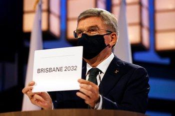 Thomas Bach, anuncia a Brisbane como sede olímpica 2032