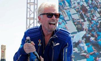 El 11 de julio el magnate británico Richard Branson ascendió 80 km para llegar al borde del espacio