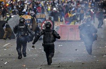 Protestas contra el gobierno de Iván Duque