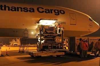 Nuevas dosis de Pfizer arriban al Aeropuerto de Carrasco este miércoles