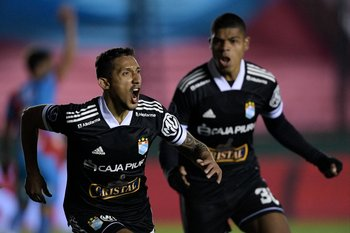 Christofer Gonzales, de Sporting Cristal
