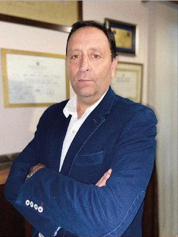 Sergio Ltaif, candidato de la lista 2123 a la presidencia de  ANRTCI