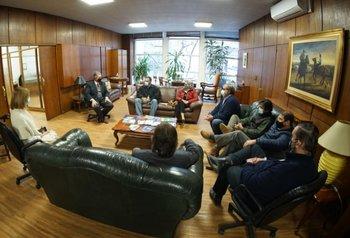 Seis representantes de USU se reunieron con autoridades del MGAP.