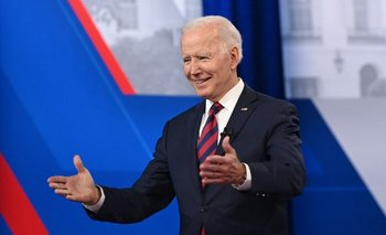 Presidente estadounidense, Joe Biden en el foro presidencial