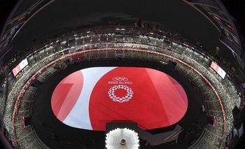 Así luce el estadio olímpico previo a la ceremonia de apertura de los Juegos Olímpicos