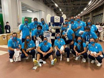 Delegación uruguaya en Tokio 2020