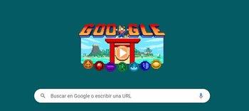 El nuevo Doodle de Google para los Juegos Olímpicos Tokyo 2020