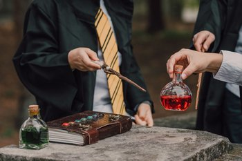 Harry Potter hace lo que los maestros: mejorar el juego cuando las reglas quedaron cortas