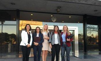 Ivana Calcagno, Patricia Di Belo, Natalia Hughes, Soledad Capurro, Magdalena Pereira