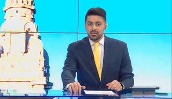 Miguel Chagas en su estreno en Canal 5