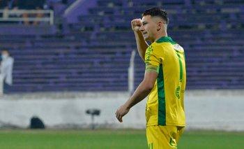 Maxi Silvera, el gol del empate