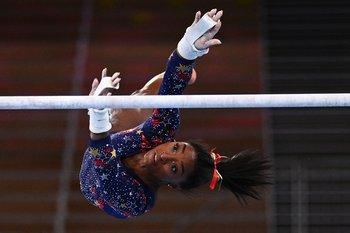 Simone Biles debutó en los Juegos Olímpicos