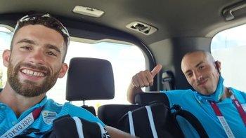 Bruno Cetraro y Felipe Klüver no ocultan su felicidad