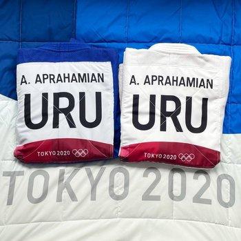 Mikael Aprahamian está pronto para su debut en judo en los JJOO