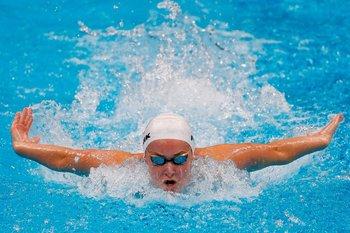 Nicole Frank en su debut olímpico