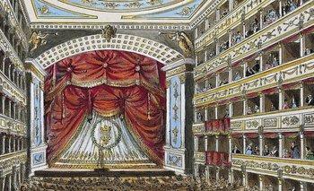 El Theater an der Wien, donde Beethoven estrenó sus sinfonías 2, 3, 5 y 6, así como su ópera Fidelio, entre otras