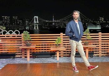 Michael Phelps está en los Juegos Olímpicos de Tokyo 2020 pero en otra función