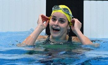 Kaylee McKeown, campeona con récord olímpico