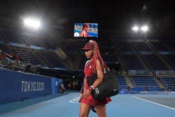 Naomi Osaka se despidió de Tokyo 2020
