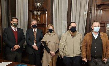 La reunión se realizó en la sede de la ARU.