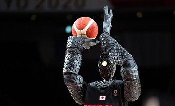 CUE, el robot basquetbolista en Tokyo 2020
