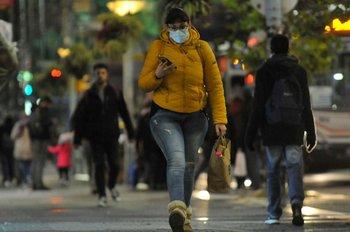 En cuatro departamentos hubo temperaturas por debajo de los -2°C