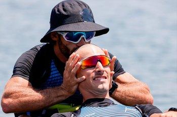 Un beso sagrado: Cetraro y Kluver finalistas olímpicos
