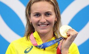 Ariarne Titmus es la figura de la natación australiana.